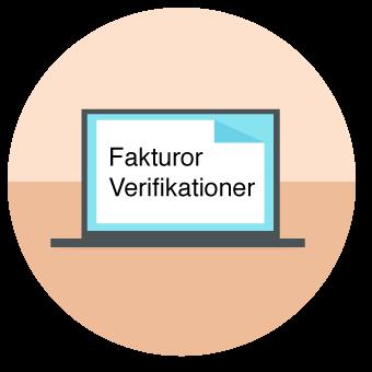 fakturering, bokföring och verifikationer